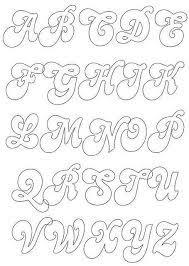 En esta ocasión te queremos mostrar moldes de letras para imprimir para que con ellas puedas inspirarte y animarte a hacer letras grandes para hacer carteles, enseñarles las letras a los más pequeños o simplemente. Mam Selle Chocolat Patrones Abecedario Moldes De Letras Cursiva Moldes De Letras Bonitas Moldes De Letras