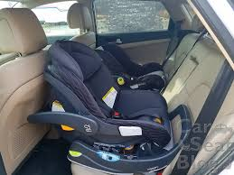in the stage 1 infant setting fit2 is very similar to keyfit 30 in the way it fits in the vehicle in the stage 2 toddler setting you can see that fit2