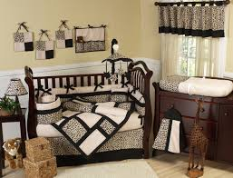Leopard Print Bedroom An Animal Print Curtains For Nursery