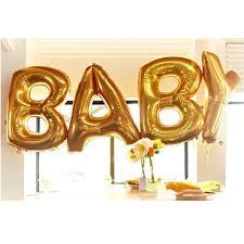 30 inch Gold Letter Foil Balloon Alphabet Aluminum Helium Balloons Birthday Wedding Party Decoration Celebration