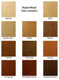 wood colored paintStain Samples  Amish Tables  For mi casa  Pinterest  Tables