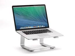 lift your laptop to a comfortable viewing height and reclaim your desktop