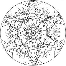 Free Mandalas Coloring Pages Betterfor
