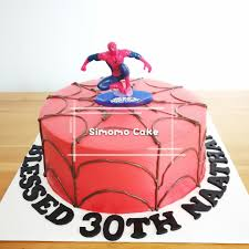 Spiderman Cake Free Delivery Food Drinks Baked Goods On Carousell