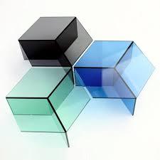 cubism furniture. The Glass Side Table Isom - Charming Design By Sebastian Scherer Cubism Furniture A