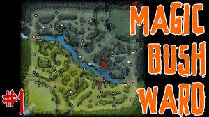 dota 2 tip 1 magic bush ward one ward that stops two creep