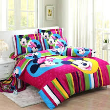 mickey mouse twin sheet set colorful mouse twin bed set disney mickey mouse clubhouse twin bedding