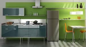 interior design kitchen. Amazing Soft Green Colors Interior Design With Modern Color Kitchen