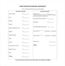Sample Budget Worksheet Fascinating Event Budget Template Excel Free On For Vancouvereastco