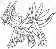 Small Picture Pokemon Palkia And Dialga Coloring Pages Pokemon Coloring