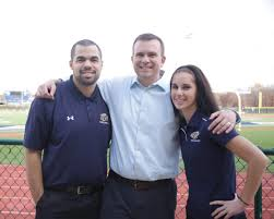 gu sports industry management student internships pictured left to right shad sommers sam atkinson and sarah fitzpatrick on gallaudet s campus
