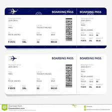 Boarding Pass Template Airline Ticket Template Free Sample Customer Service Resume 1