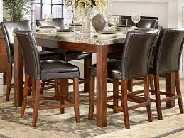 Marble Table Tops Round Round Kitchen Table With Bench Pub Style Dining Sets Impressive