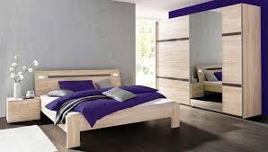 Schlafzimmer Komplett Nizza 4 Teilig Struktureiche Hell Grau
