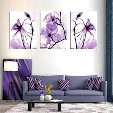 purple wall art canvas combined 3 set new purple flower wall art painting prints on canvas purple wall art