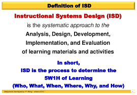 Instructional System Design Instructional Systems Design Isd Addie 2 0