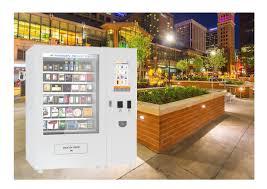 Refrigerated Vending Machines Custom Modern Design Custom Refrigerated Vending Machine For Snack Food