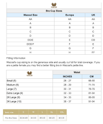 Wacoal Shapewear Size Chart High Quality Wacoal Size Chart Wacoal Size Chart New 102