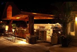 outdoor kitchen lighting. Awesome Patio Lighting Ideas Outdoor Stylish Design With Amazing Kitchen Using