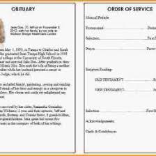 microsoft office funeral program template funeral program template microsoft image editable free funeral