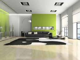 Find the Best Interior Paint Ideas : Interior House Painting Ideas Green  White