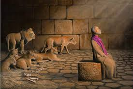 Image result for daniel in the lions den gif