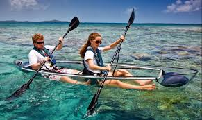 Transparent Canoe Kayak Snorkeling On Your Kayak