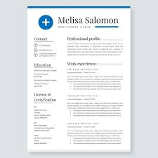 Nursing Resume Template | Nurse Resume | Cv Template | Nurse Cv ...