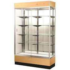 display units and glass cabinets shelving pine wall mounted new sports commercial case cabinet shelves decoration showcase for with doors big furniture