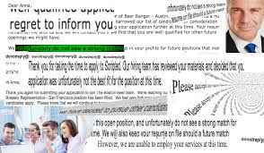 I Took My Job Rejection Letters And Made A Collage Out Of Them
