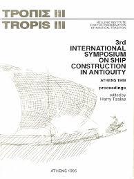 Naval History Essays Tzalas 1995 Tropis Iii Bronze Age