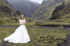 Платье свадебное А-силуэта - фото