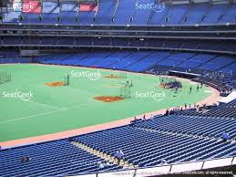 view seating charts toronto blue jays at rogers centre section 234 view