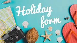 Holiday Request Form New Holiday Request Form Toner Giant