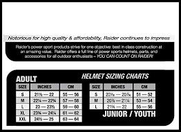 Raider Youth Helmet Sizing Chart Raider Adrenaline Mx Helmet Grey Xx Large