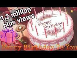 Happy Birthday To You Birthday Song Birthday Cake Whatsapp