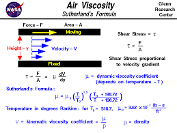 viscosity equation for liquids. the coefficient of dynamic viscosity relates shear stress in a fluid to gradient equation for liquids