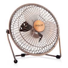 opolar f505 desktop usb fan with upgraded 6 inch blades enhanced airflow lower noise metal design usb powered personal table fan mini cooling fan