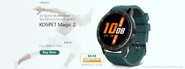 <b>Kospet Magic 2</b> Smartwatch Global Launch with Best Price, Buy Now