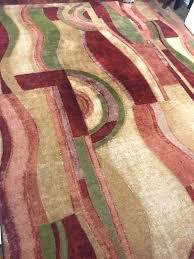 area rug 8 x bohemian earth tones jewel tone household in toned oriental target