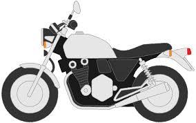 バイクフリーイラスト素材無料商用利用可 もってけ上田の