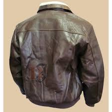 men s distressed brown er jacket with fur distressed fur jacket
