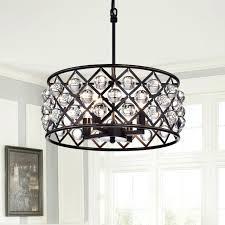oil rubbed bronze crystal chandelier 4 light crystal drum chandelier ceiling fixture oil rubbed bronze 4