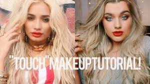 pia mia touch inspired make up tutorial