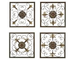Metal Wall Decor For Kitchen Decor 80 Tuscan Decorating Kitchen With Plates And Wrought Iron