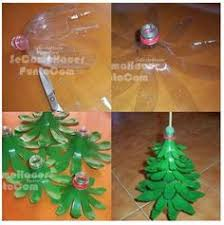 Christmas Decor Using Plastic Bottles Christmas Decoration made out of recycled plastic bottles 2