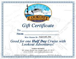 Cruise Gift Certificate Template Purchase Gift Certificates Private Charter Boat Boat
