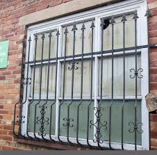 Decorative Security Grilles For Windows 2 X Heavy Duty Decorative Window Security Grilles In Radcliffe