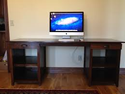 Brown Diy Computer Desk ...