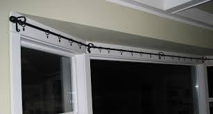 bay window curtain rod. Curtain Rail For Bay Windows Window Rod